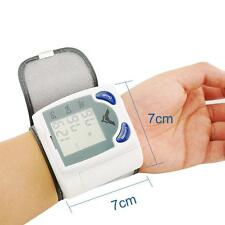LCD Digital Automatic Blood Pressure Heart Beat Pulse  Monitor
