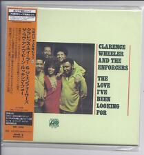 CLARENCE WHEELER & The Enforcers The Love I've Been Looking For JAPAN mini lp cd
