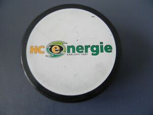 HC ENERGIE KARLOVY VARY- CZECH EXTRALEAGUE HOCKEY LEAGUE  Hockey Puck