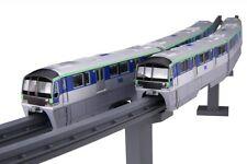FUJIMI Tokyo Monorail Type 10000 6-car train Painted Plastic Model 1/150 scale