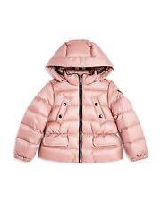 NEW $375 Burberry Girls Bronwyn Hooded Down Puffer Jacket, Size 4Y/104cm