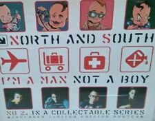 North and South I'm A Man Not A Boy CD Single Also Includes Poster 1997