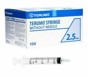 **FREE NEXT DAY DELIVERY** Terumo Syringes. Hypodermic Sterile LUER