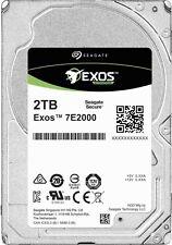 "2TB Seagate EXOS 2.5"" 12Gb/s SAS 7200 RPM 128MB 7E200 Enterprise Hard Disk Drive"