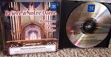 PIERRE GRANDMAISON Notre Dame CD organ Montreal 2002 Suite Gothique Canada