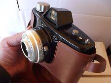 Fotocamera Macchina Fotografica AGFA CLICK II e Borsa Custodia Bachelite vintage