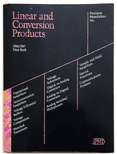 Pmi,1986/1987 Linear and Conversion Products Data Book 1986