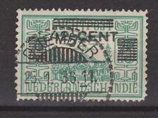 Nederlands Indie Netherlands Indies Indonesia 214 CANCEL DJEMBER 1934