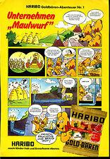 Haribo -- Goldbären aventure Nº 1 -- Bande dessinée -- publicité de 1979 --