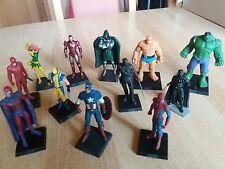 Lot de 12 Statuettes  Marvel en plomb