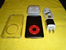 Apple iPod classic 7th Gen Black and Gold (SSD256 GB) + extras! Great condition