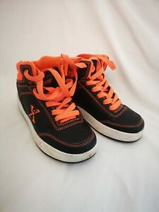 Heelys X Sidewalk Sports Orange And Black UK kids size 13 Roller Shoes