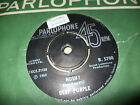 "DEEP PURPLE ""HUSH/ONE MORE RAINY DAY"" 7"" INDIA ULTRA RARE"