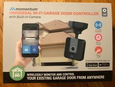 Momentum WiFi Garage Door Opener Controller with Built-in Camera, Android/iOS
