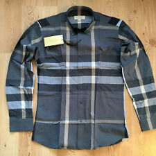 Burberry Men's Button Down Long Sleeve Cotton Shirt All Sizes