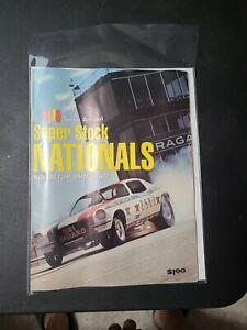 Vintage 1970 Sixth Annual Super Stock Nationals Program