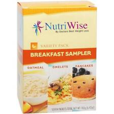 NUTRIWISE | Breakfast Sampler Pack | High Protein, Low Calorie, Low Carb,Low Fat
