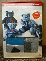 Husqvarna Viking Embroidery #152 MR TEDDY Bear Helene Koch KIT Designer 1 & PC