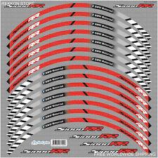 BMW S1000RR Motorcycle Wheel Decals Rim Stickers Stripes Motorrad Motorsport