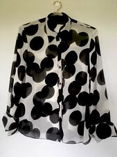 SANDRA SOULOS size 14 Bubble Shirt Top