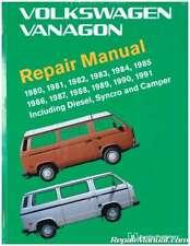 Volkswagen Vanagon Repair Manual 1980-1991 : VV91