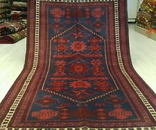 "Beautiful  3'7""×6""1900-1930s Wool Pile Muted Dyes Tribal Dowry Rug Turkey"