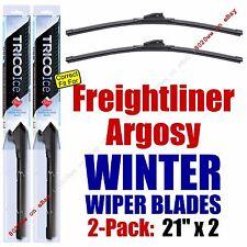 WINTER Wiper Blades 2pk Premium fit 1999-2006 Freightliner Argosy - 35210x2