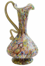 Vetro di murano glass Vaso Murrine anni '30 Egidio Ferro ( Vetreria A.VE.M. )