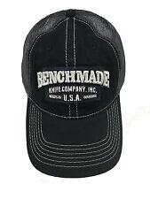 "Benchmade Trucker ""Solid Steel"" Hat 50014 Mesh Back Plastic Snap Closure"