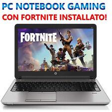 """PC NOTEBOOK PORTATILE GAMING DA GIOCO 15.6"""" RICONDIZIONATO AMD A10 8GB SSD 240GB"""