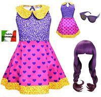 Simile Lol Super BB Vestito Carnevale Bambina Tipo Lol Dress Cosplay LOLSUBB1
