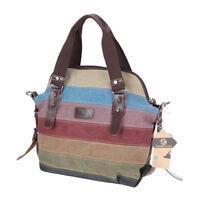 Koolertron Damen Canvas Schultertasche Fashion Vintage Damen Handtasche Handbag