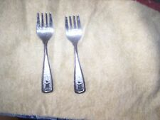 ONEIDA STAINLESS BABY FORKS THE FIRST YEARS 2