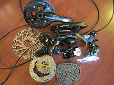 SHIMANO SLX SRAM X9 10 SPEED TRIPLE AVID ELIXIR 5 HYDRAULIC DISC GROUP BUILD KIT