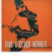 (BI801) Five O'Clock Heroes, Speak Your Language- DJ CD