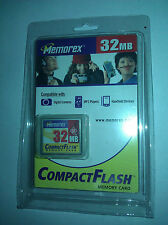 Compact Flash Memory Card - 32 MB - Memorex - Rare