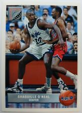 1993 93 Upper Deck Future Force Shaquille O'Neal #P43, Rookie RC, Insert, Magic