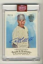 2019 Topps Archives Signature Series Retired Edition Andy Pettitte Auto /10