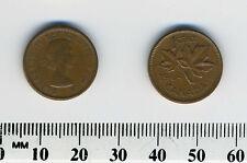 Canada 1964 - 1 Cent Bronze Coin - Queen Elizabeth II - Maple - #2