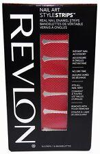 Revlon Nail Art Style Strips - Flaming Fishnets