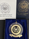 1997 CAPITOL CHRISTMAS ORNAMENT THE STATE OF TEXAS SEAL W BOX & PAPER