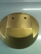 Mack Truck Bull Dog Hood Ornament BRUSHED GOLD BASE ONLY 14MF45