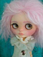 Custom Blythe doll Ooak by Soledad Blythe pink mohair