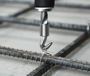 Draht Driller Drillapparat Drillwerkzeug Betonbindedraht Binde Ösendraht Baustah