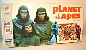 Vintage 1974 PLANET OF THE APES Board Game By Milton Bradley COMPLETE #4426