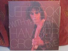 Jeff Beck-Live With The Jan Hammer Group-1977 Vinyl Record-Nemperor NE50361-Vg.E