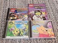 Lot of 3 CD-Rom PC Games, Lego Creator, Winnie the Pooh, Bug's Life - Windows 98