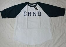 The Hundreds GRND Grand St Rosewood Collection White Navy Blue Size XXL
