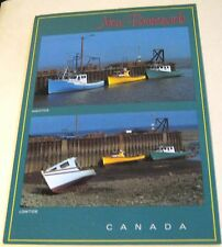 Canada New Brunswick High & Low Tides - posted 1988