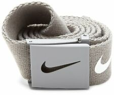 NIKE WEB Tech Essentials Golf Belt - Lt. Charcoal